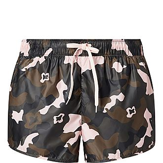 Forest Camouflage Run Shorts