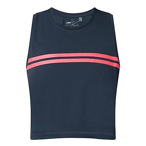 Orbit Striped Sports Vest, ${color}