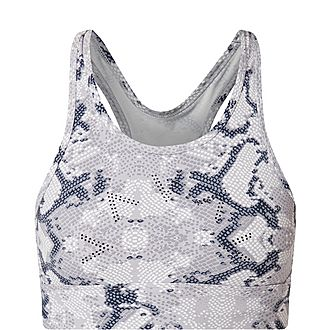 Berkeley Snake Print Sports Bra