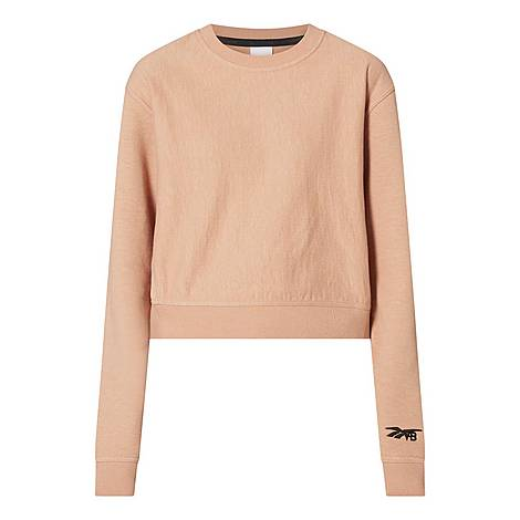 Cropped Sweatshirt, ${color}
