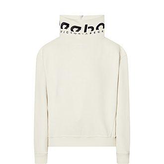 Cropped Cowl Sweatshirt