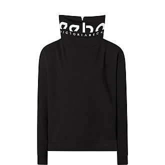 Cropped Cowl Sweat Top