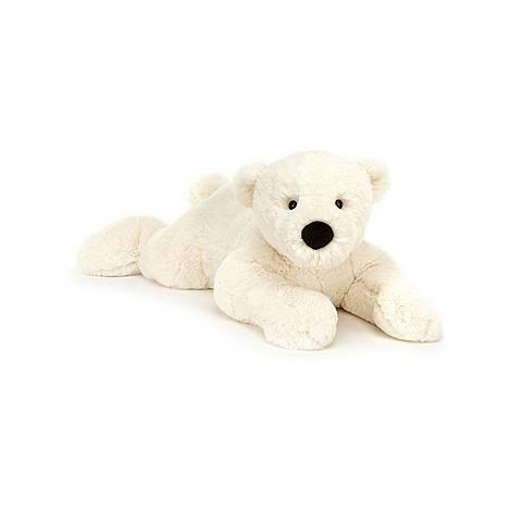 Perry Lying Down Polar Bear, ${color}