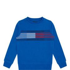 Flag Crew Neck Sweatshirt