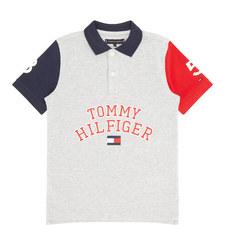 Colour-Block Polo Shirt