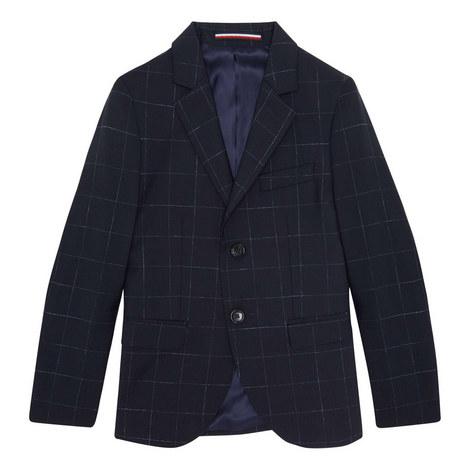 Check Suit Jacket, ${color}