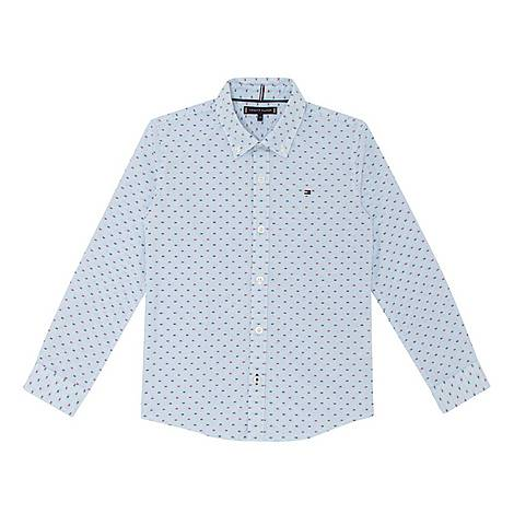 Gingham Dobby Shirt, ${color}