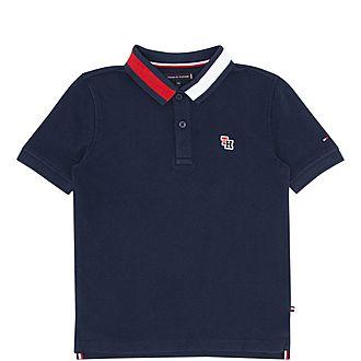 Boys Polo Flag Shirt