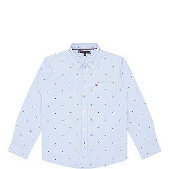 All-Over Flag Oxford Shirt