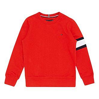 Flag Sleeve Sweatshirt