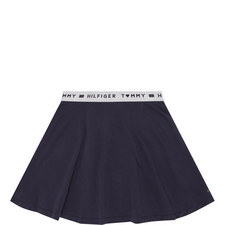 Logo Waistband Skirt