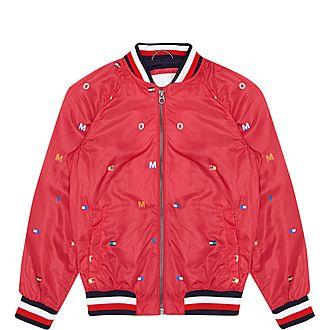 Flag Bomber Jacket