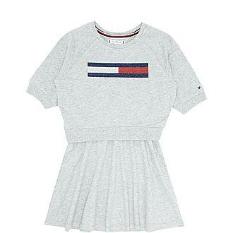 Lurex Flag Dress