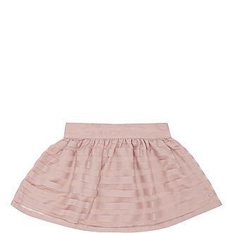 Organza Stripe Skirt