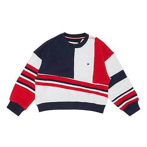Colour Block Sweatshirt, ${color}
