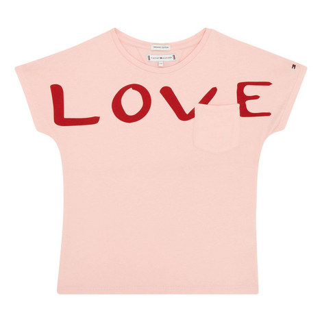 Love Print T-Shirt Kids, ${color}