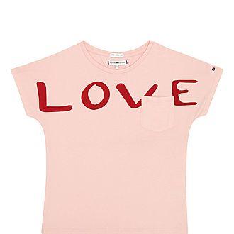 Love Print T-Shirt Kids