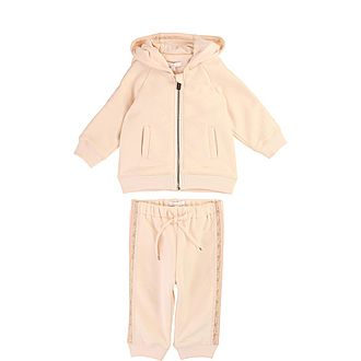 Two-Piece Lurex Tracksuit