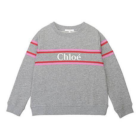 Pink Logo Sweatshirt, ${color}