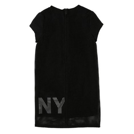 Mesh T-Shirt Dress, ${color}