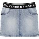 Logo Band Denim Skirt, ${color}