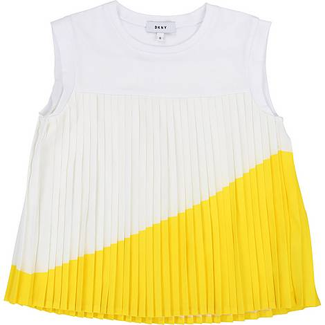 Pleated T-Shirt, ${color}
