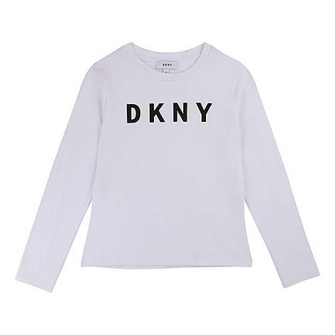 Long-Sleeved Logo T-Shirt, ${color}