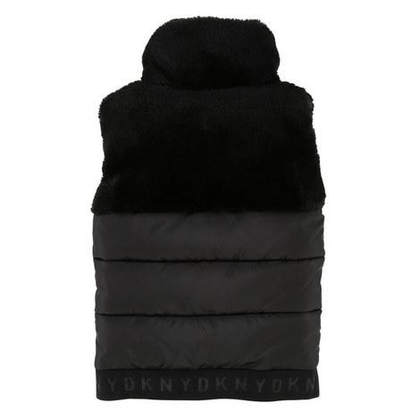 Faux Fur Puffa Jacket, ${color}