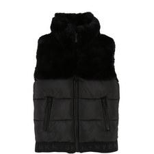 Faux Fur Puffa Jacket