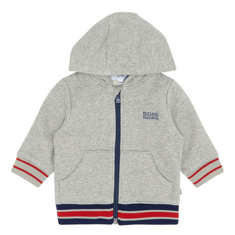 Striped Logo Hoodie, ${color}
