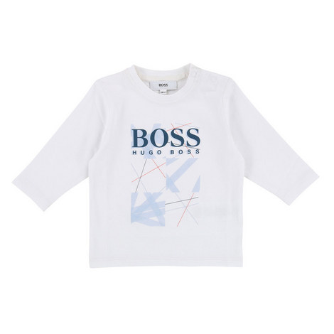 Long Sleeve Graphic T-Shirt Baby, ${color}