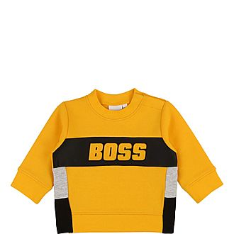 Embossed Logo Sweater