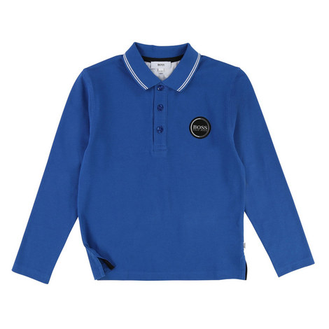 Long Sleeve Polo T-Shirt, ${color}