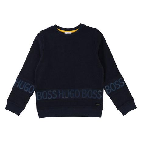 Casual Logo Sweatshirt, ${color}
