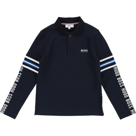 Long Sleeve Polo Shirt, ${color}