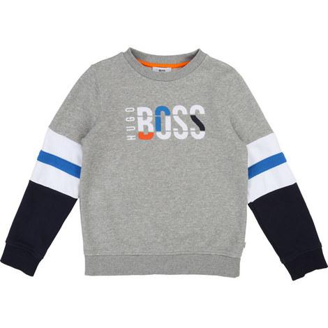 Boss Logo Sweater, ${color}