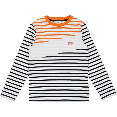 Long Sleeve Stripe T-Shirt, ${color}