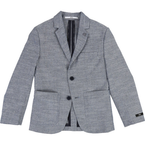Linen Suit Blazer, ${color}