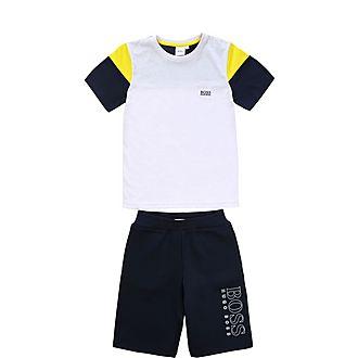 Two-Piece T-Shirt & Shorts Set