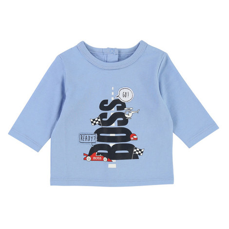 Long Sleeve Printed T-Shirt Baby, ${color}