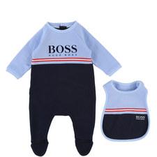 Rompersuit & Bib Set Baby