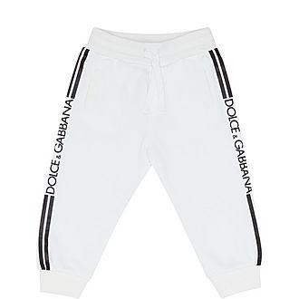 Stripe Logo Sweatpants