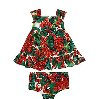 Baby Floral Poplin Dress
