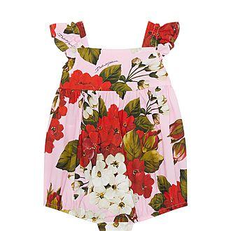 Floral Frill Bodysuit
