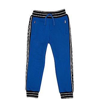 Blue Side Logo Sweatpants