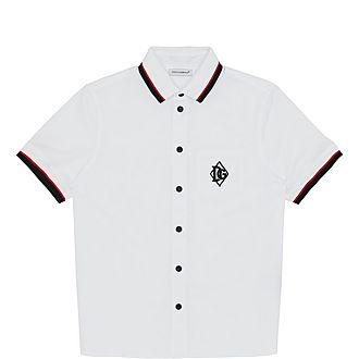 Logo Cotton-Blend Shirt
