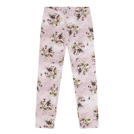 Floral Print Leggings, ${color}