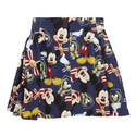 Mickey Mouse Skater Skirt, ${color}