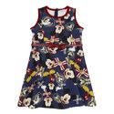 Mickey Mouse Print Dress, ${color}