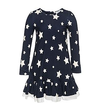 Long-Sleeved Star Dress